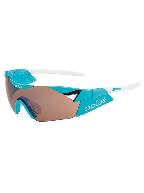 Bolle 6th Sense (Small) Sunglasses - Shiny Blue w/ Modulator Rose
