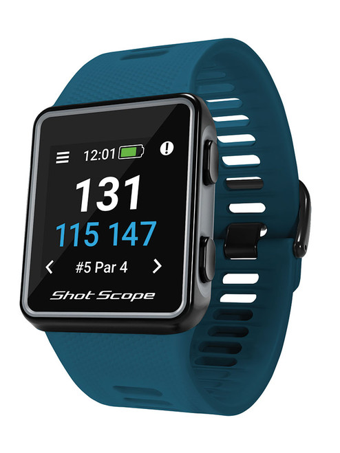 Shot Scope V3 Golf GPS and Performance Tracker - Teal