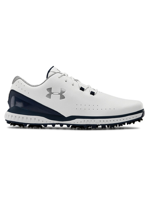 Under Armour Medal RST Wide E Golf Shoes - White/Academy