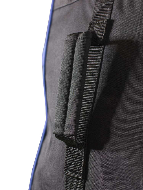 Stonehaven Cart Bag Wheeled Travel Cover - Black/Blue