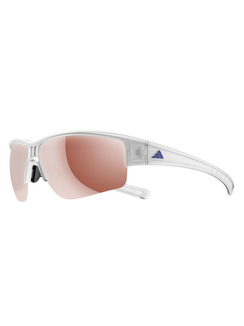Adidas Evil Cross Sunglasses - White w/ LST Active Silver