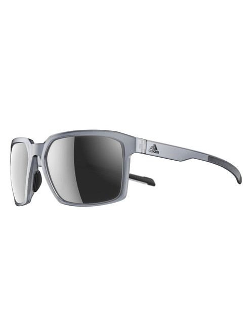 Adidas Evolver Sunglasses - Grey w/ Grey Mirror
