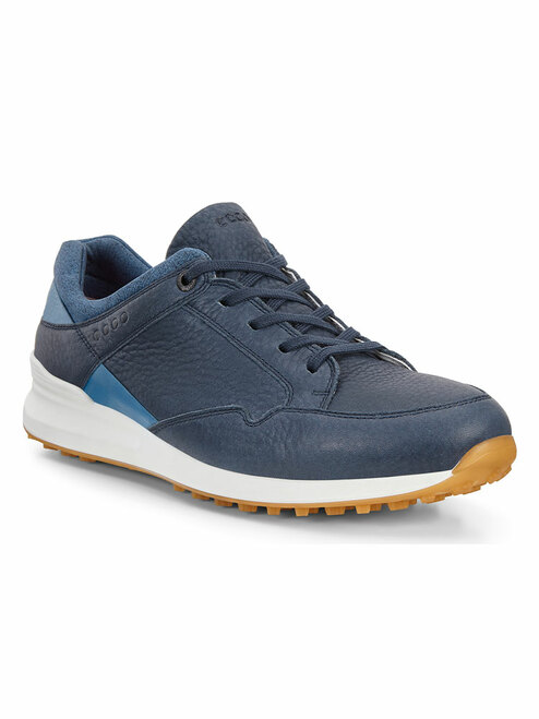Ecco W Street Retro Golf Shoes - Navy/Marine