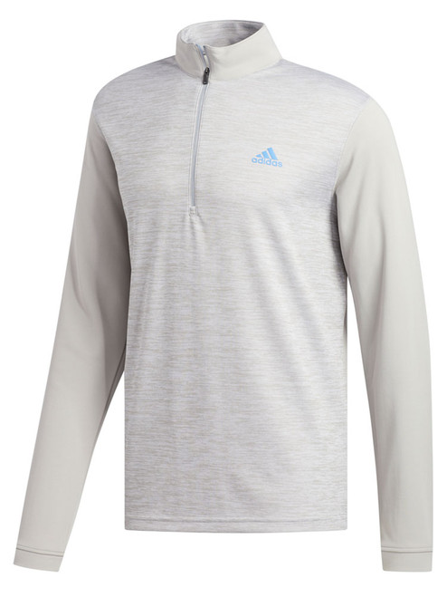 Adidas Core Golf 1/4 Zip - Grey Two