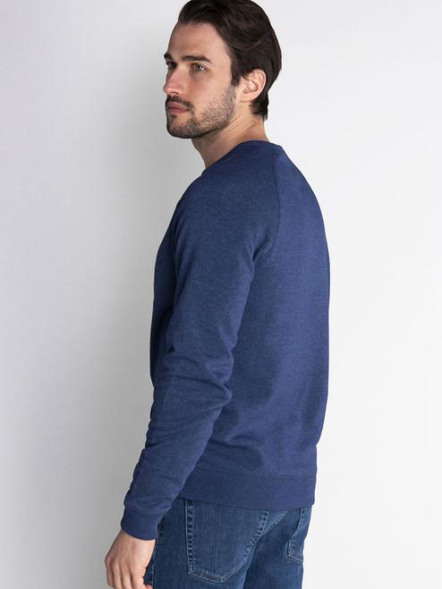 Calvin Klein Columbia Crew Neck Sweater - Denim Marl