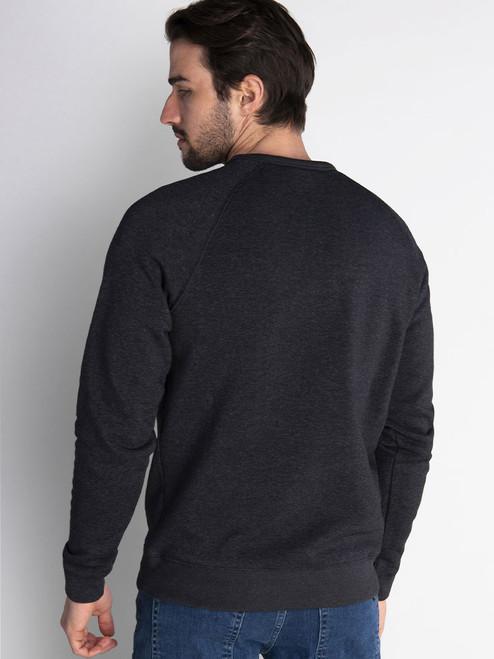 Calvin Klein Columbia Crew Neck Sweater - Charcoal Marl