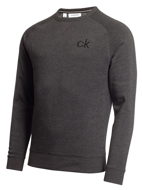 Calvin Klein Columbia Crew Neck Sweater - Charcoal Marl