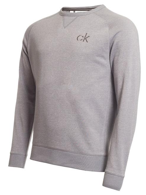 Calvin Klein Columbia Crew Neck Sweater - Silver Marl