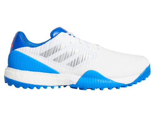 Adidas Codechaos Sport Golf Shoes - FTWR White/Glory Blue/Solar Red