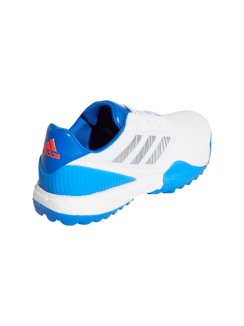 Adidas Codechaos Sport Golf Shoes - FTWR White/Glory Blue/Solar Red