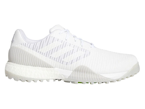 Adidas Codechaos Sport Golf Shoes - FTWR White/LGH Solid Grey/Signal Green