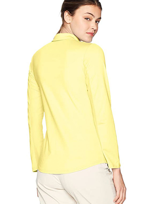 Bette & Court Ladies Cool Elements Swing Polo - Daffodil