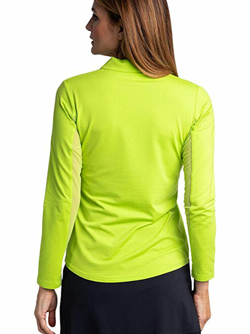 Bette & Court Ladies Cool Elements Swing Polo - Lime