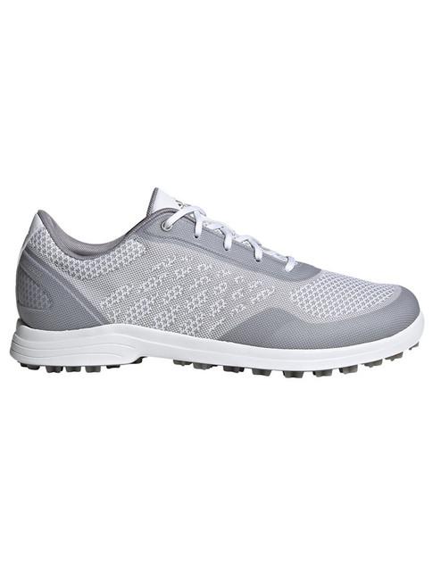 Adidas W Alphaflex Sport Spikeless Golf Shoes - Cloud White/Glory Grey