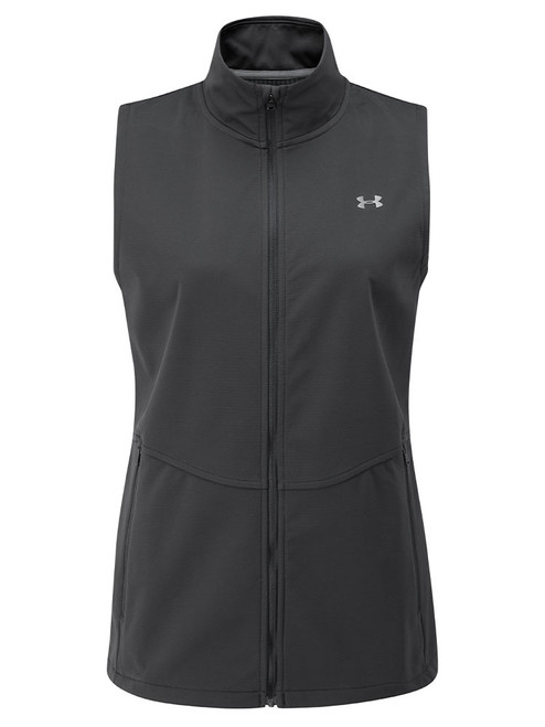 Under Armour W Soft Shell Vest - Black