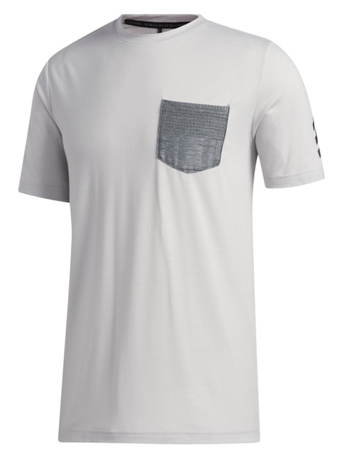 Adidas Adicross Pocket Tee - Grey Two