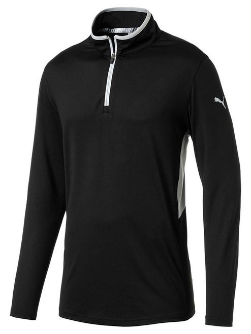 Puma Rotation 1/4 Zip Golf Pullover - Puma Black