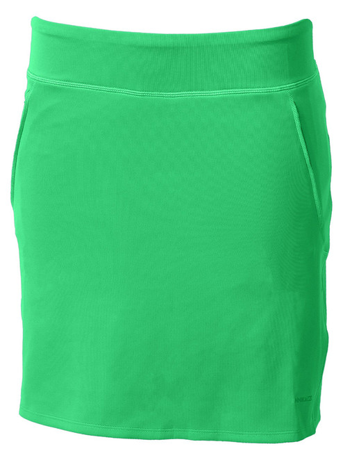 Annika Interval Pull On Skort - Drive Green