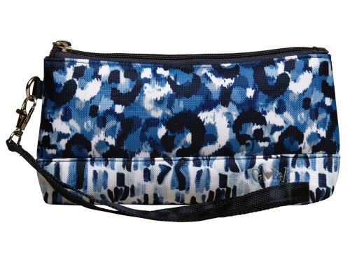 Glove It Wristlet - Blue Leopard