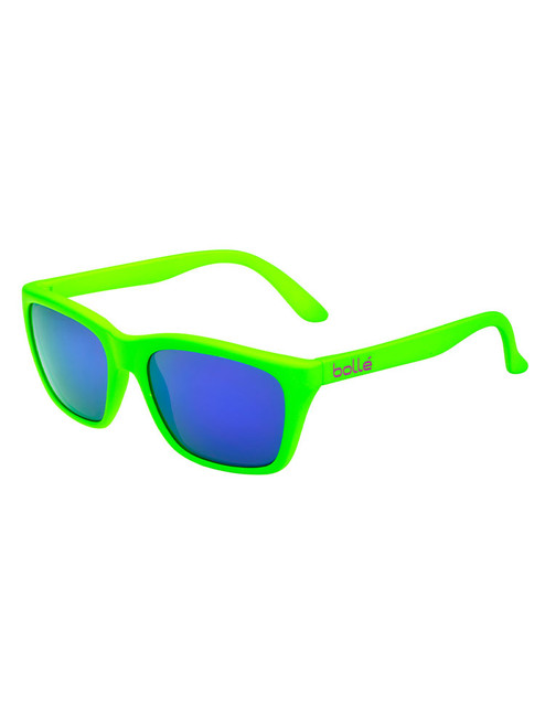 Bolle 527 Sunglasses - Matte Green w/ Fluo TNS Violet