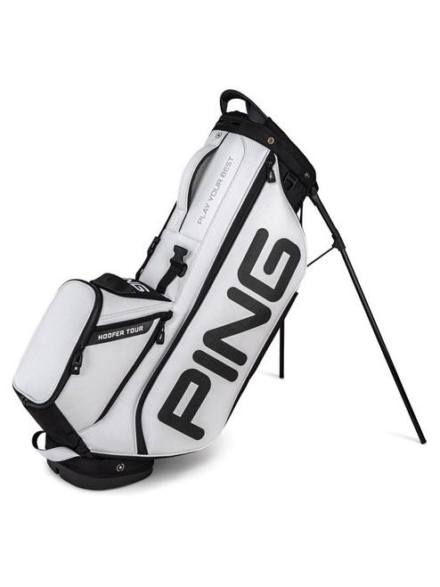 Ping Hoofer Tour Stand Bag - White/Black