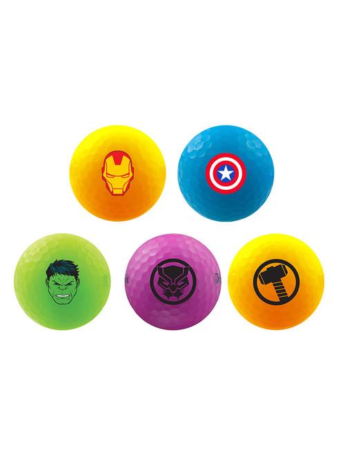 Volvik Marvel Golf Balls - 5 Pack Multi
