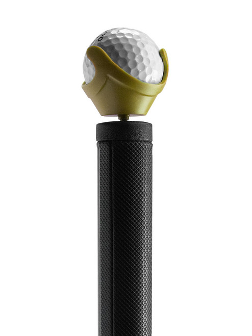 Golf Pik Combo Ball Pick-up and Holder - Gold