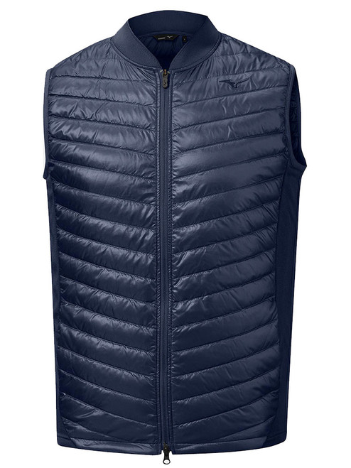 Mizuno Golf Move Warmer Gillet - Deep Navy