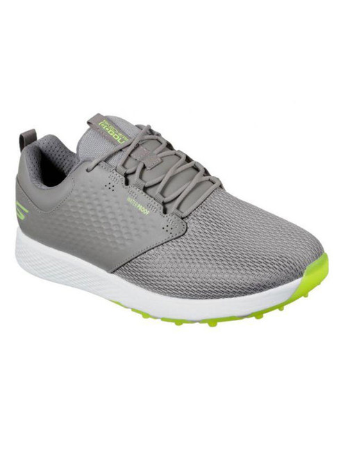 Skechers Go Golf Elite 4 Prestige Golf Shoes - Grey/Lime