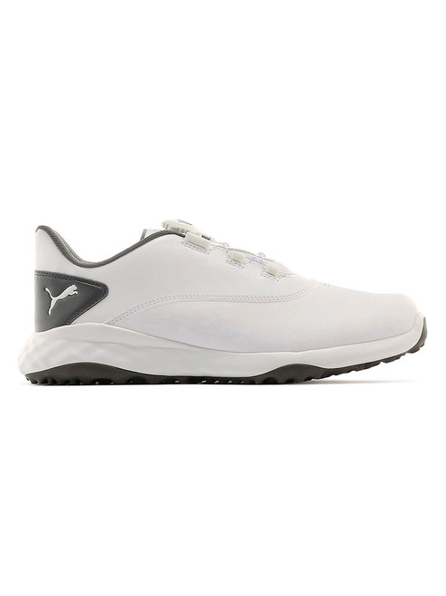 Puma Grip Fusion DISC Golf Shoes - White/Quiet Shade