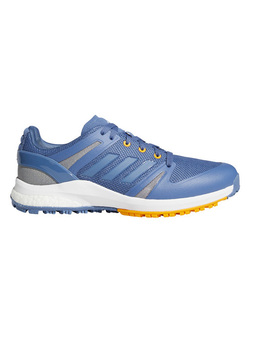 adidas EQT Spikeless Golf Shoes - Crew Blue/Crew Yellow