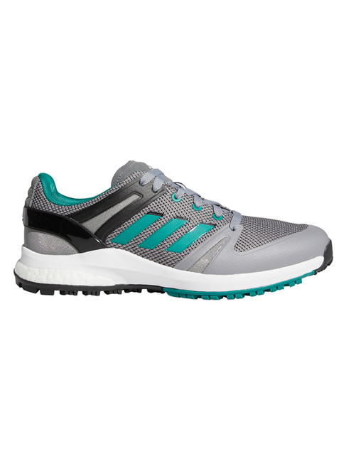 adidas EQT Spikeless Golf Shoes - Grey Four/Sub Green/Core Black