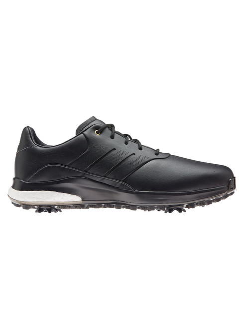 adidas 360 Boost Classic Golf Shoes - Core Black/Gold Met.