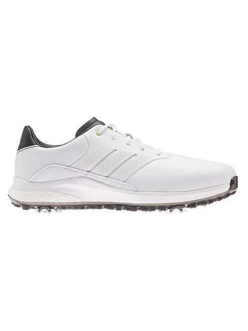adidas 360 Boost Classic Golf Shoes - FTWR White/Gold Met./Core Black
