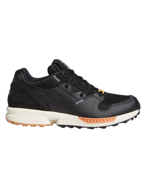 adidas Adicross ZX Golf Shoes - Core Black/Grey One/Hazy Copper
