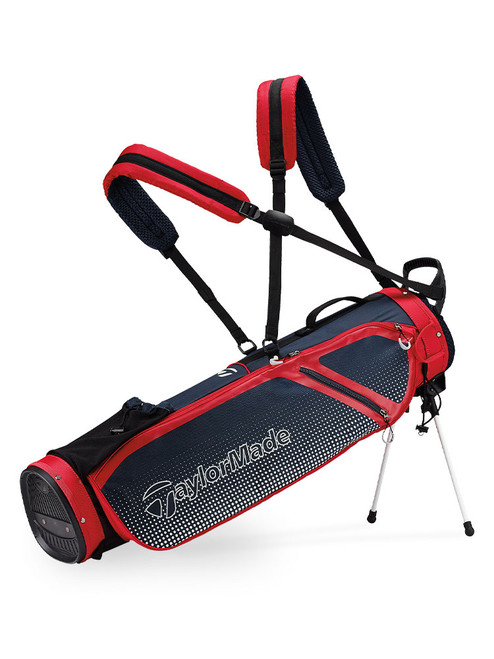TaylorMade Quiver Stand Bag - Navy/Red