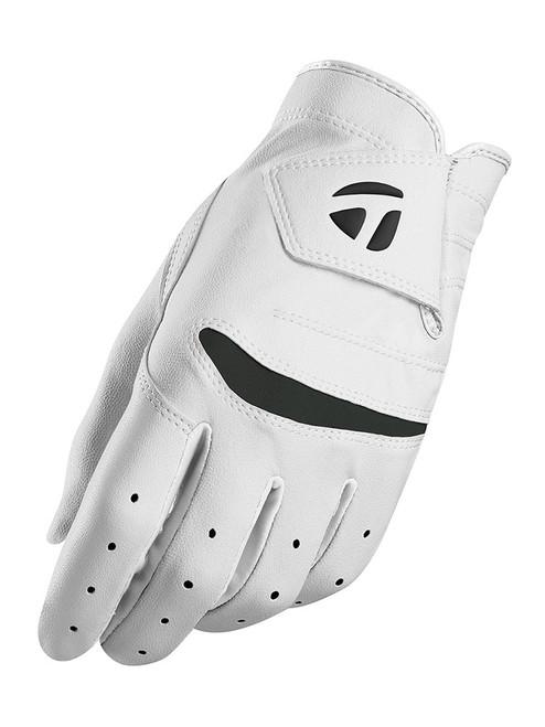 TaylorMade Stratus Junior Golf Glove - White