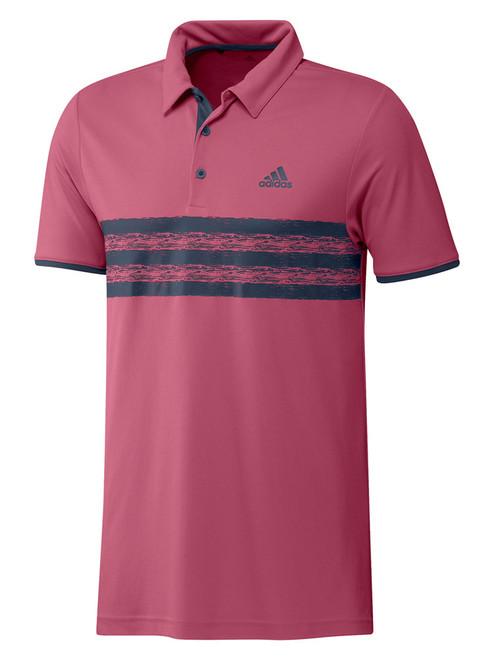 adidas Core Polo Shirt - Wild Pink/Crew Navy