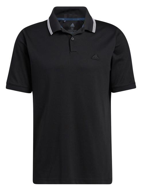 adidas Go-To Primegreen Pique Polo Shirt - Black/White