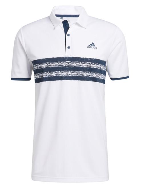 adidas Core Polo Shirt - White/Crew Navy