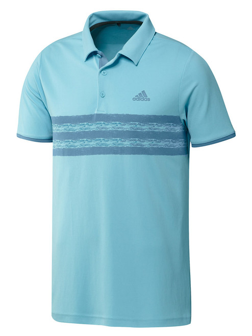 adidas Core Polo Shirt - Hazy Sky/Hazy Blue