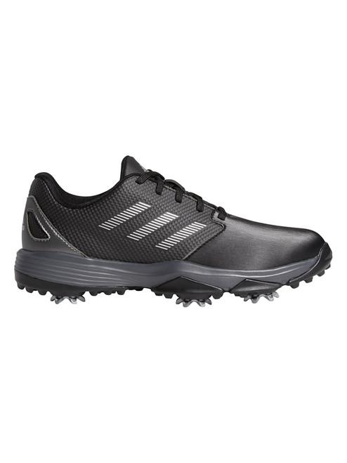 adidas JR ZG 21 Golf Shoes - Core Black/Silver Met./Dark Silver Met.