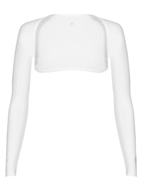 SParms Sun Protection Shoulder Wrap (Shawl) - White