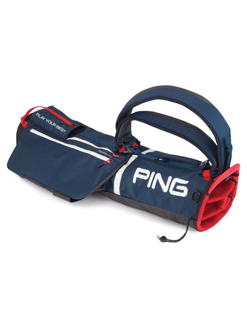 Ping Moonlite 201 Carry Bag - Navy/White/Scarlet