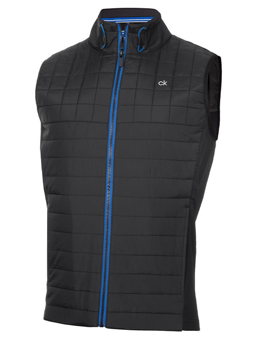 Calvin Klein Vardon Hybrid Gilet - Black/Nautical Blue