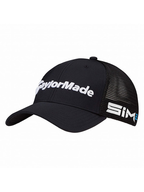 Taylormade Tour Cage Fitted Golf Cap - Black