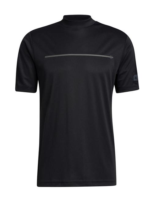 adidas Adicross Draw Fade Mock Tee - Black