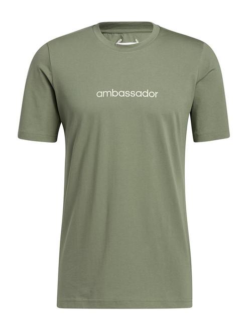 adidas Adicross Concert Tee - Natural Green