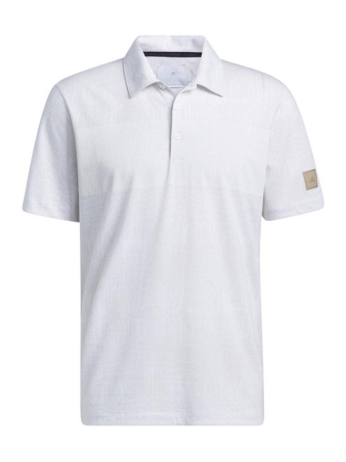 adidas Adicross Desert Print Polo Shirt - White