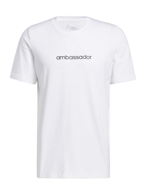 adidas Adicross Concert Tee - White